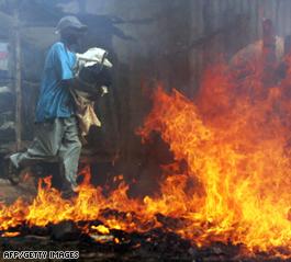Kenya election riots